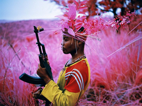 Richard Mosse's photography captures the beauty and tragedy in war and destruction