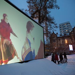 Nordic Outbreak in Umeå, Sweden, City Hall Park, European Capital of Culture 2014