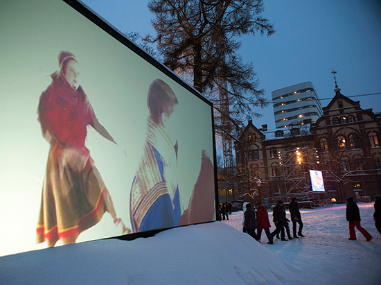 Nordic Outbreak in Umeå, Sweden, City Hall Park, European Capital of Culture 2014