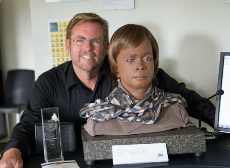 Meet Humanoid Robot Bina48
