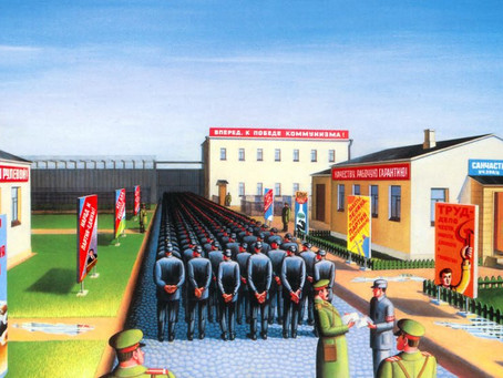 Leonid Lamm's art fights against oppression