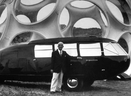 Buckminster Fuller, inventor, visionary