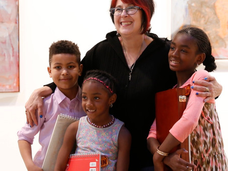 Cyndie Berthezene's TimeIn Children's Art Initiative, transforms lives of at risk students NYC
