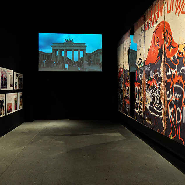 Breakthrough, 20th anniversary of Fall of Berlin Wall, Chelsea Art Museum exhibition, NYC ...