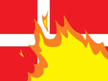 SUPERFLEX: Rebranding Denmark, Burning Car, The Working Life premiere