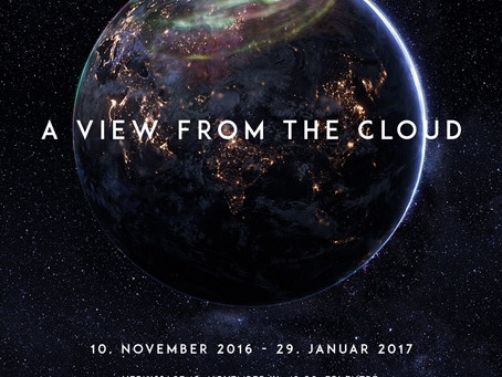A View From The Cloud - an immersive visual and sound art exhibition in Kvinesdal, Norway