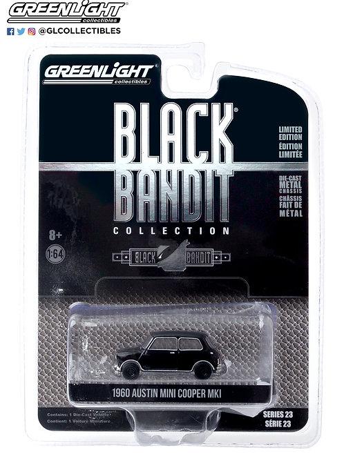 Greenlight Black Bandit 23 1960 Austin Mini Cooper Mkl