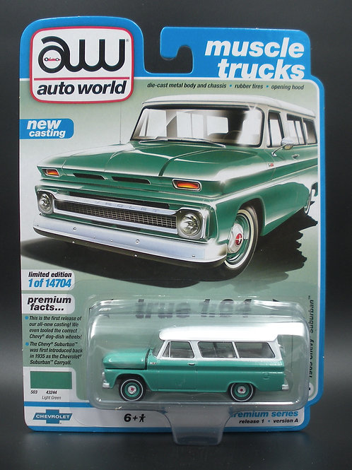 Auto World 1965 Chevy Suburban