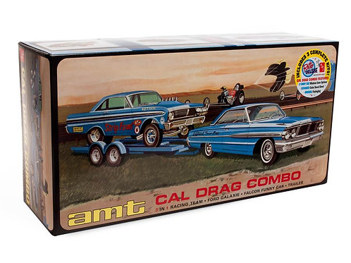 AMT Ford Cal Drag Combo
