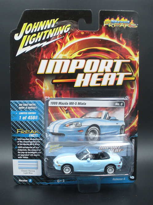 Johnny Lightning Street Freaks 4 Version A 1999 Mazda MX-5 Miata