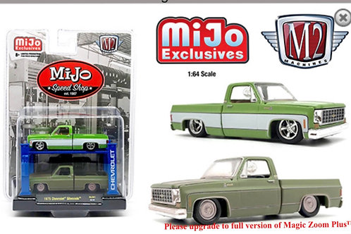 M2 Auto Lift MiJo Exclusive 1975 Chevy Silverado Squarebody Set