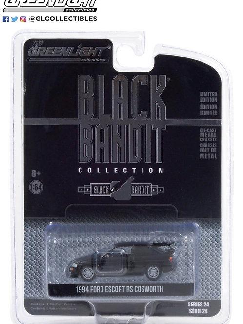 Greenlight Black Bandits 24 1994 Ford Escort RS Cosworth