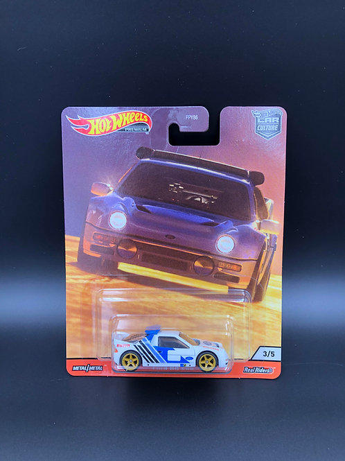 Hot Wheels Car Culture Thrill Climbers Ford RS 200