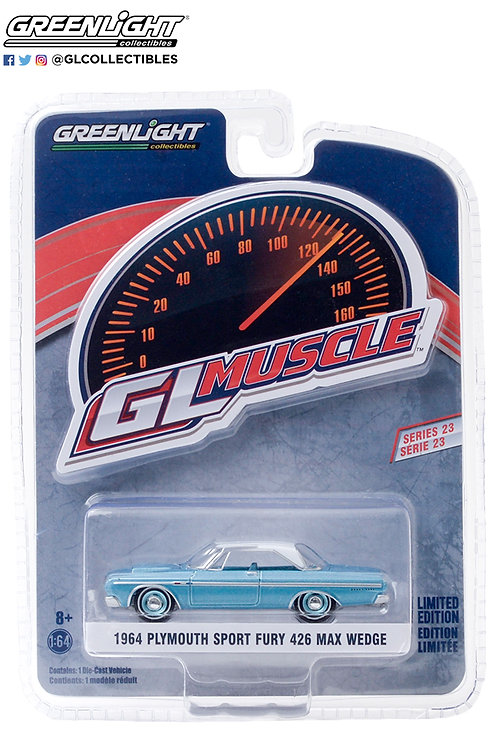 GL Muscle Series 23 1964 Plymouth Sport Fury 426
