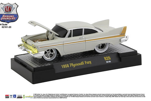 M2 Ground Pounders 20 1958 Plymouth Fury