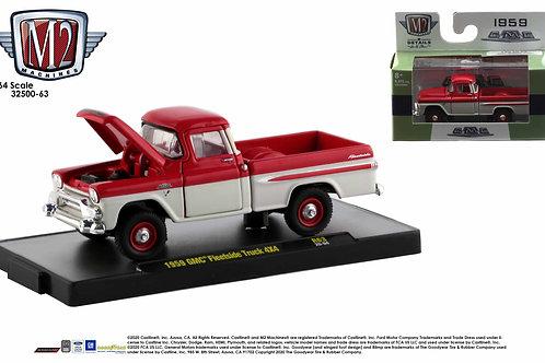 M2 Auto Trucks 63 1959 GMC 4x4 Pick Up Truck
