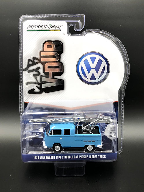 Greenlight Club V-Dub 11 1973 Double Cab Ladder Truck