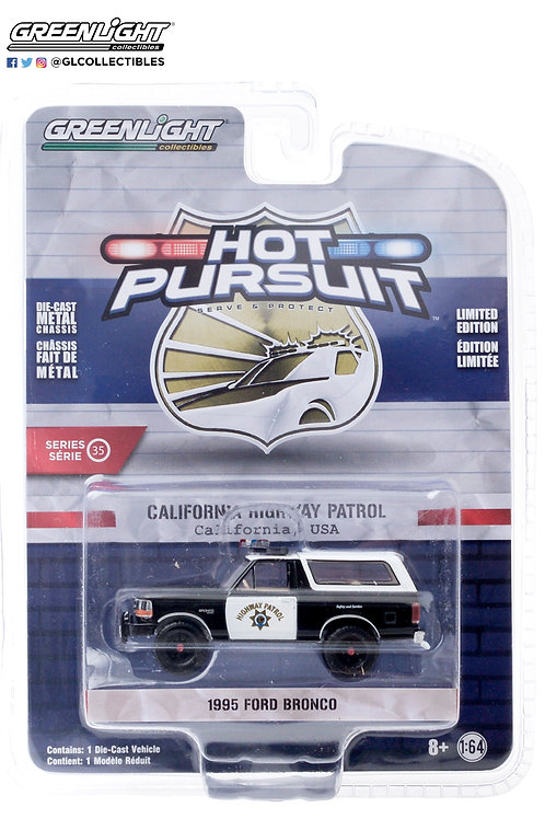 Greenlight Hot Pursuit 35 1995 Ford Bronco 4x4