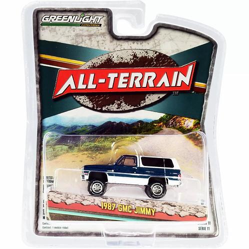 Greenlight All Terrain 11 1987 GMC Jimmy Sierra Classic