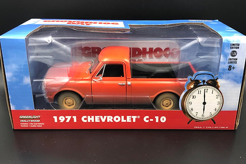 Greenlight Hollywood Groundhog Day 1971 Chevy C10 Pick Up 1/24