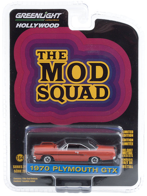 Greenlight Hollywood 29 The Mod Squad 1970 Plymouth GTX