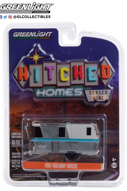 Greenlight Hitched Homes 9 1961 Holiday House Weathered