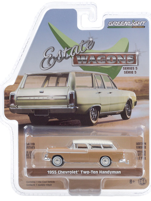 Greenlight Estate Wagons 5 1955 Chevy 210 Handy Man Station Wagon
