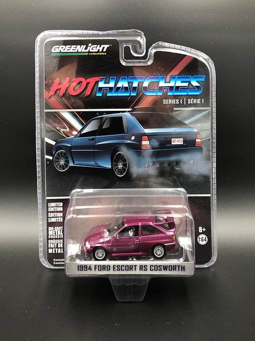 Greenlight Hot Hatches 1 1994 Ford Escort RS Cosworth