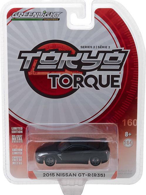 Greenlight Tokyo Torque 2 2015 Nissan GT-R