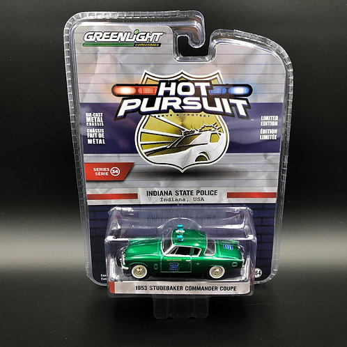 Greenlight Hot Pursuit 34 1953 Studebaker Commander Coupe Green Machine