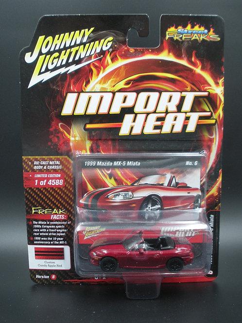 Johnny Lightning Street Freaks 4 Version B 1999 Mazda MX-5 Miata