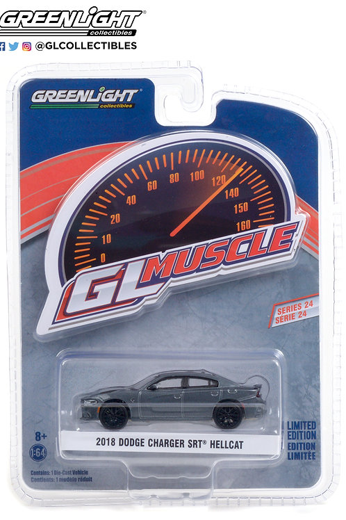 Greenlight GLMuscle 24 2018 Dodge Charger SRT Hellcat