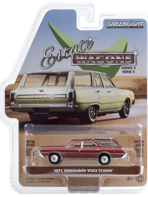 Greenlight Estate Wagons 5 1971 Olds Vista Cruiser Station Wagon