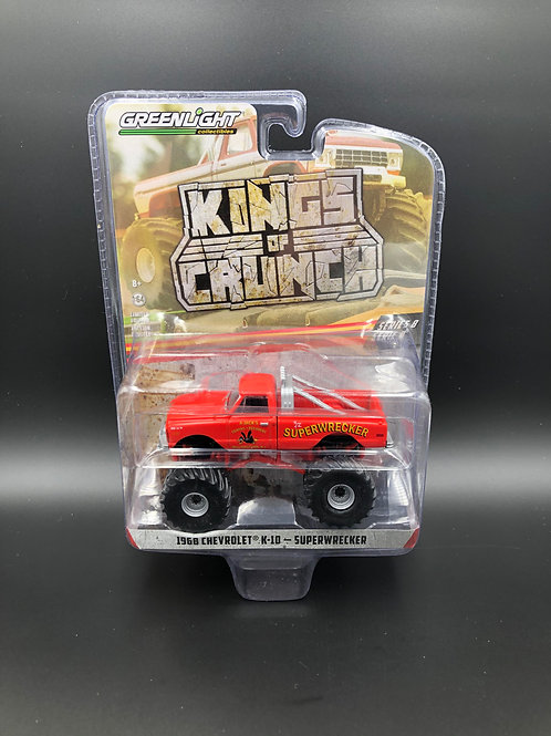 Greenlight Kings of Crunch 8 1968 Chevy K10