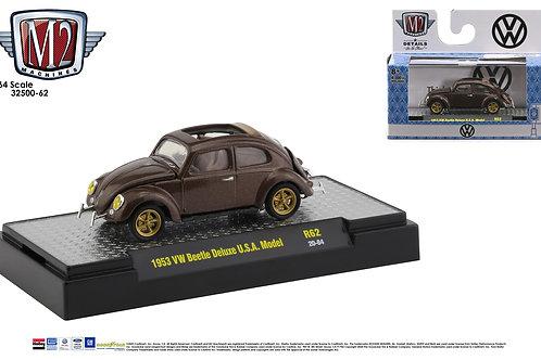 M2 Auto Thentics 1953 VW Beetle Deluxe USA Model