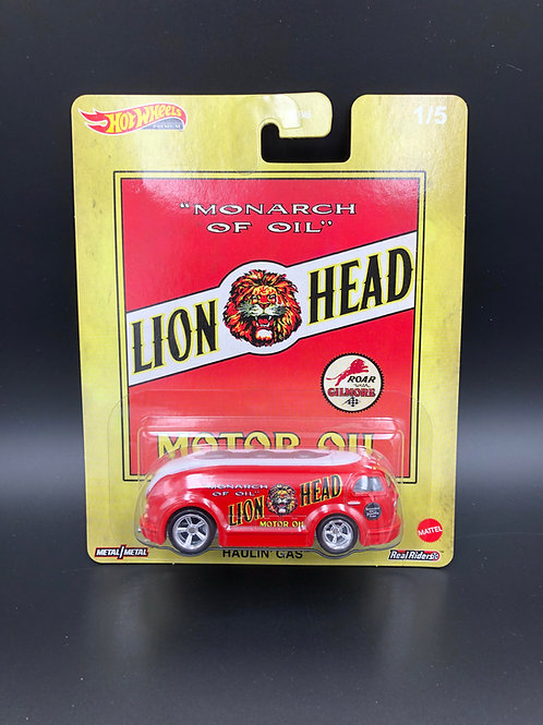 Hot Wheels Pop Culture Fuel 1937 Haulin Gas Lion Head