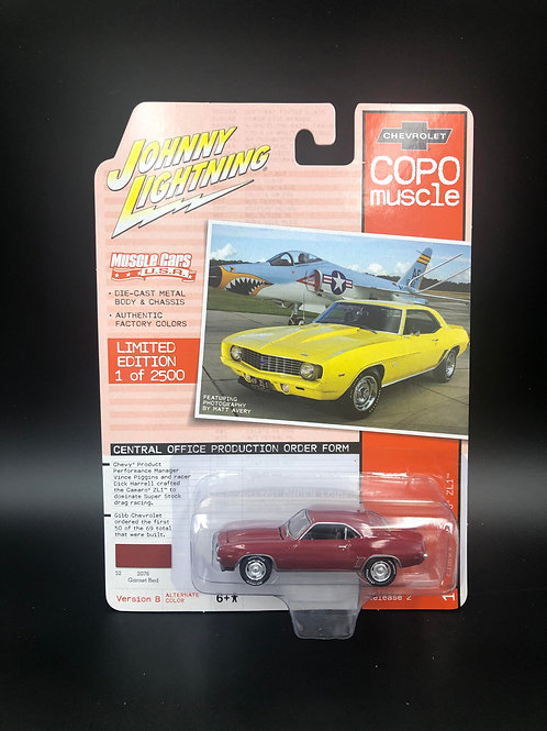 Johnny Lightning COPO Muscle 2 1969 Chevy Camaro ZL1