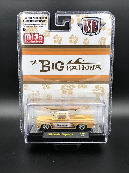 M2 MiJo Exclusive 1973 Chevy Cheyenne 10 Pick Up Da Big Kahuna