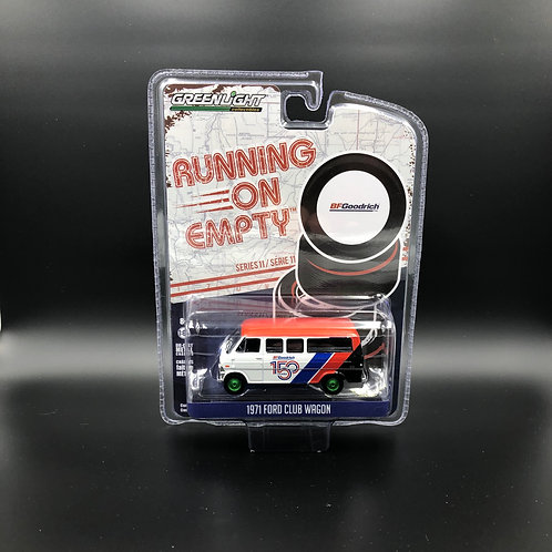 Greenlight Running on Empty 11 1971 Ford Club Wagon Green Machine