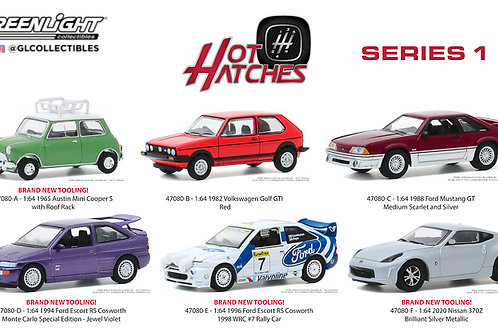 Greenlight Hot Hatches Series 1 Sealed Inner