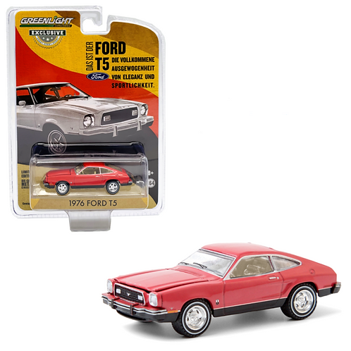 Greenlight Hobby Exclusive 1976 Ford T5 Mustang