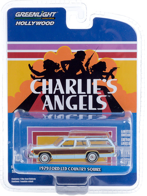 Greenlight Hollywood 29 Charlies Angels 1979 Ford LTD Country Squire Wagon