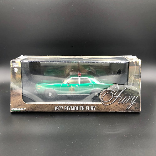 Greenlight Hobby Exclusive 1977 Plymouth Fury Green Machine