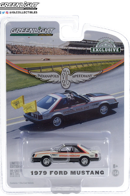 Greenlight Hobby Exclusive 1979 Ford Mustang Indy 500 Pace Car