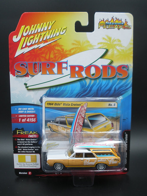 Johnny Lightning Street Freaks 4 Version B 1964 Olds Vista Cruiser Station Wagon
