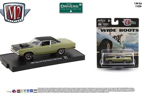 M2 Drivers 67 1969 Plymouth Road Runner 440