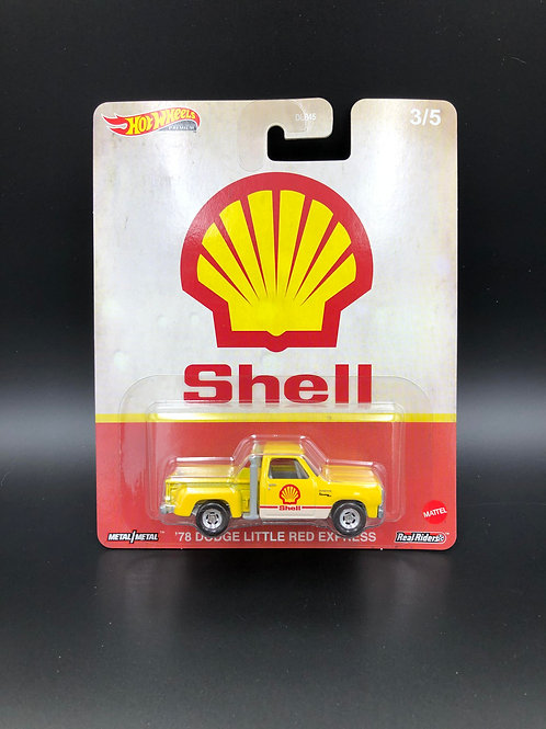 Hot Wheels Pop Culture Fuel 1978 Dodge Little Red Express Shell