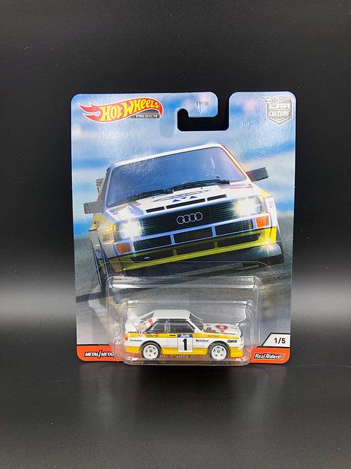 Hot Wheels Car Culture Thrill Climbers Audi Sport Quattro