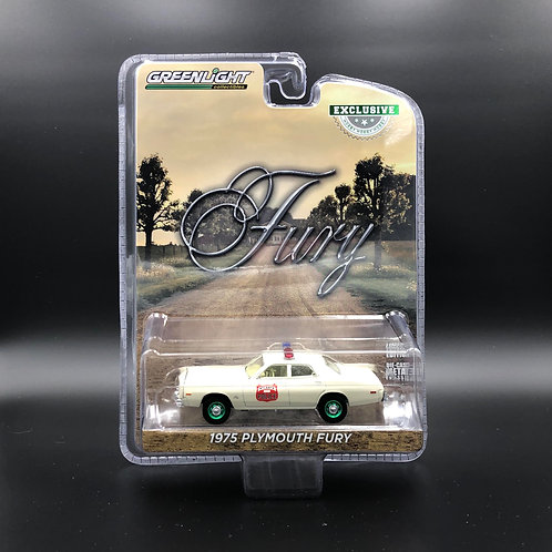 Greenlight Hobby Exclusive 1975 Plymouth Fury Green Machine