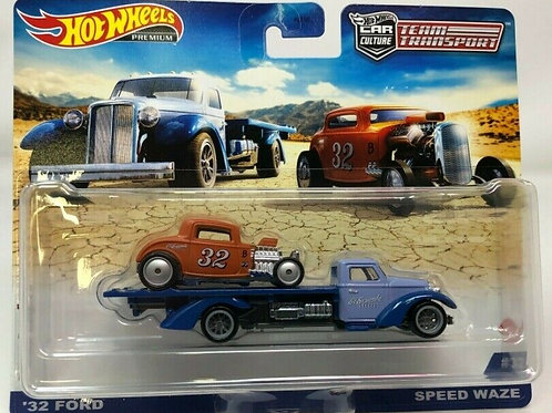 Hot Wheels Team Transport L 1932 Ford with Speed Waze Hauler